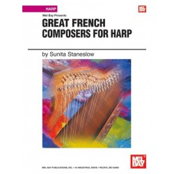 Great French composers for harp