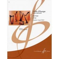 Noëls d'europe chants traditionnels harpe NOBLET