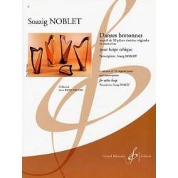 Danses bretonnes pour harpe celtique Soazig NOBLET