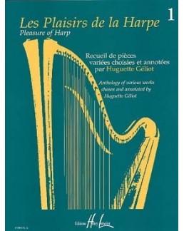Les plaisirs de la harpe Huguette GELIOT vol 1