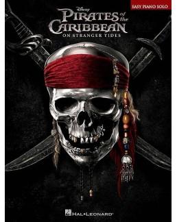 """Pirate des Caraïbes 4  """"La fontaine de Jouvence"""" piano facile"""