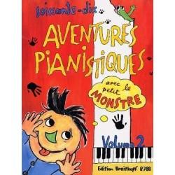 70 aventures pianistiques avec le petit monstre vol 2