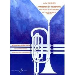 J'apprends la trompette Michel RICQUIER