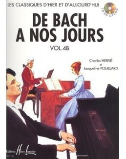 De Bach à nos jours vol 4B Hervé Pouillard