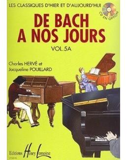 De Bach à nos jours vol 5A Hervé Pouillard