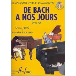 De Bach à nos jours vol 5B Hervé Pouillard