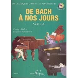 De Bach à nous jours vol 6A Hervé Pouillard
