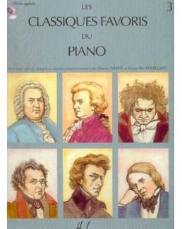 Les classiques favoris du piano vol 3