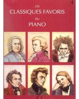 Les classiques favoris du piano vol 4