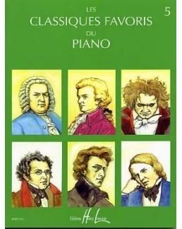 Les classiques favoris du piano vol 5