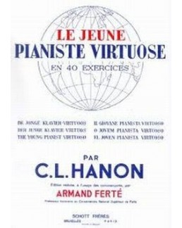 Le jeune pianiste virtuose HANON 40 exercices