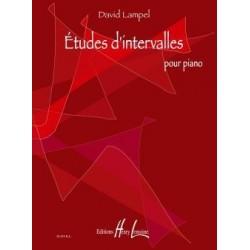 Etudes d'intervalles pour piano Lampel