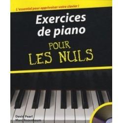 Pour les Nuls exercices de piano avec CD