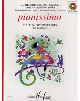 Pianissimo Le répertoire du pianiste QUONIAM