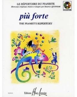 Piu Forte Le répertoire du pianiste QUONIAM