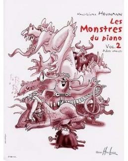 Les monstres du piano vol 2 HEUMANN