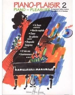 Piano plaisir vol 2 HEUMANN avec CD