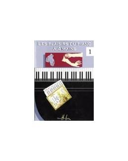 Les plaisirs du piano à 4 mains vol 1