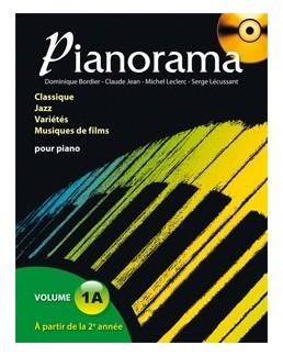 Pianorama 1A avec CD D. Bordier, C. Jean, M. Leclerc et S. Lécussan