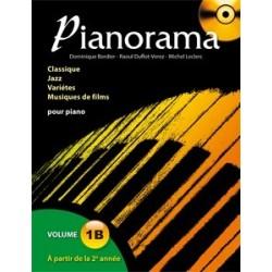Pianorama 1B avec CD D. Bordier, R.Duflot-Verez et M. Leclerc