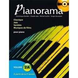 Pianorama 2A avec CD D. Bordier, C. Jean, M. Leclerc et S. Lécussant