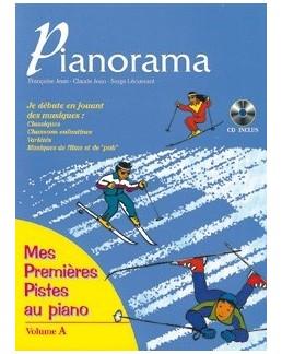 """Pianorame """"mes premières pistes"""" avec CD F. Jean, C. Jean et S. Lécussant"""
