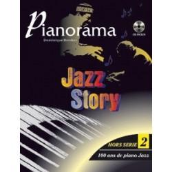 "Pianorama ""hors série"" 2 Jazz story 100 ans de piano jazz D. Bordier"