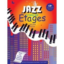Jazz à tous les étages avec CD W. Pizon