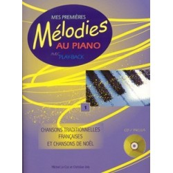 Mes premières mélodies au piano vol 1 avec CD M. Le Coz et C. Joly