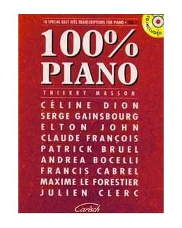 100 % piano vol 1 avec CD  Thierry Masson
