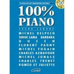 100 % piano vol 2 avec CD Franck Lanone