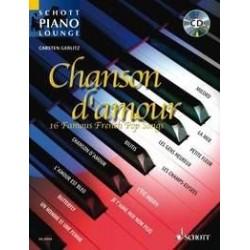 Chansons d'amour Gerlitz avec CD spécial piano
