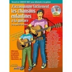 J'accompagne les chansons enfantines à la guitare HUET avec CD