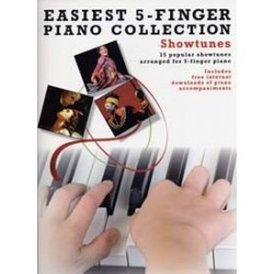 Easiest 5 finger show tunes