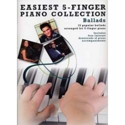 Easiest 5 finger Ballads