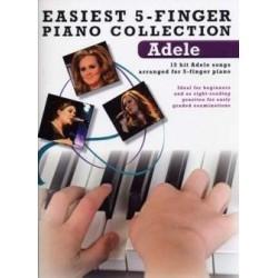 Easiest 5 finger Adele