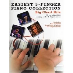 Easiest 5 finger big chart hits