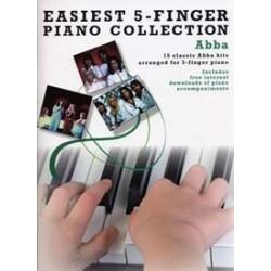 Easiest 5 finger Abba