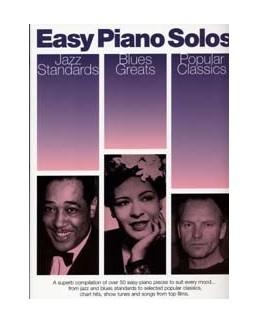 Easy piano solos jazz blues popular
