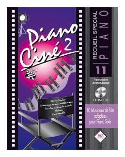 Piano ciné vol 2 avec CD spécial piano