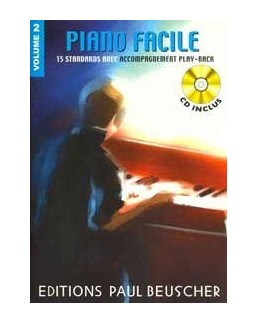 Piano facile vol 2 avec CD playback