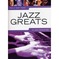 Really easy piano Jazz greats