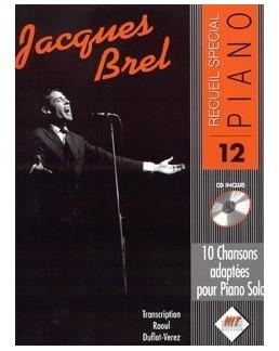 Spécial piano Brel avec CD