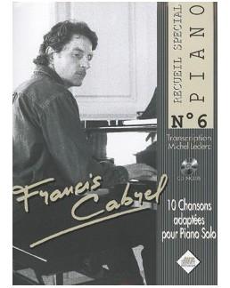 Spécial piano Cabrel avec CD