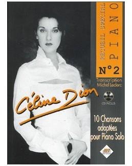 Spécial piano Céline Dion avec CD