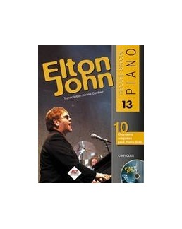 Spécial piano Elton John avec CD