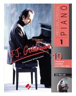 Spécial piano Goldman vol 1 avec CD