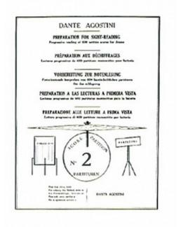 Préparation aux déchiffrages Agostini vol 2
