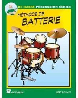 Méthode de batterie Bomhof vol 1 avec CD