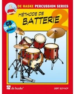 Méthode de batterie Bomhof vol 2 avec CD